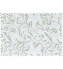 Beige grey cream colour traditional pattern with thick background fab polycotton main curtain designs