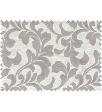 Brown beige colour traditional pattern with thick background fab polycotton main curtain designs