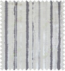 Black beige colour vertical texture stripes polycotton main curtain designs