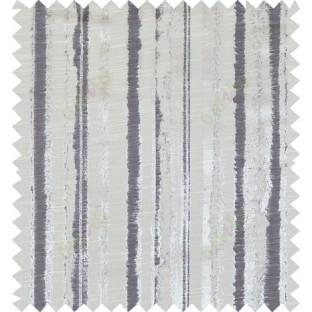 Black beige colour vertical texture stripes polycotton main curtain designs