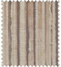 Black brown beige colour vertical texture stripes polycotton main curtain designs