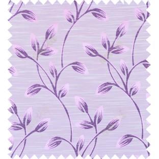 Pink purple beige colour beautiful natural floral design polycotton main curtain designs