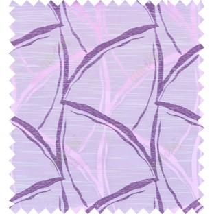 Pink purple beige colour grass leaf patter polycotton main curtain designs