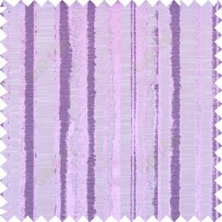 Pink purple beige colour vertical texture stripes polycotton main curtain designs