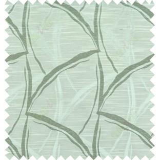 Green beige colour grass leaf patter polycotton main curtain designs