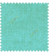 Aqua blue solid plain surface designless texture gradients jute finished crossing dots sofa fabric