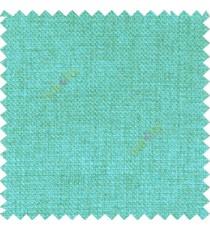 Aqua blue solid plain surface designless texture gradients jute finished crossing dots sofa fabric