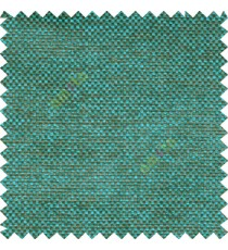 Aqua blue brown black color combination solid texture jute finished surface digital dots weaving pattern sofa fabric