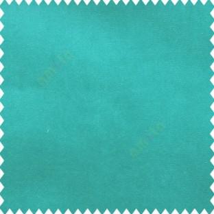 Aqua blue color complete plain design velvet finished base fabric polyester background sofa fabric