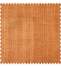 Orange brown beige color complete texture gradients horizontal embossed dot lines polyester base fabric vertical weaving pattern main curtain