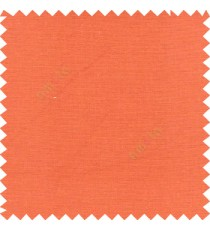 Amber orange color complete plain texture designless surface with polyester background main curtain