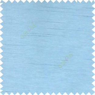 Baby blue color complete plain texture designless surface horizontal embossed lines with polyester thick background main curtain