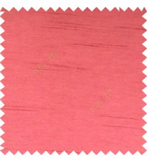 Dark pink colour complete plain texture designless surface horizontal embossed lines with polyester thick background main curtain