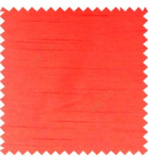 Candy red colour complete plain texture designless surface horizontal embossed lines with polyester thick background main curtain