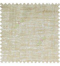 Beige cream color solid texture finished horizontal digital lines texture gradients main curtain