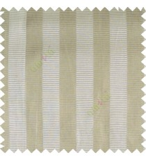 Beige cream color vertical bold stripes horizontal parallel lines texture surface polyester main curtain