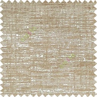 Brown beige color solid texture finished horizontal digital lines texture gradients main curtain