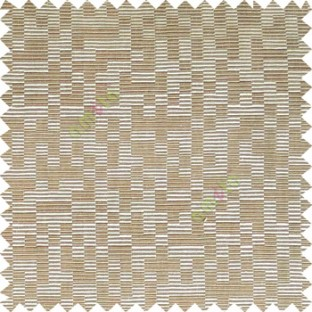 Brown beige color abstract designs geometric patterns digital stripes texture surface horizontal lines polyester main fabric
