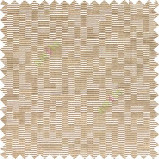 Dark brown beige color abstract designs geometric patterns digital stripes texture surface horizontal lines polyester main fabric