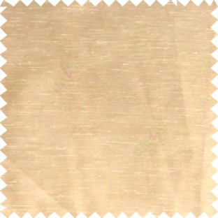 Brown color solid plain designless surface with transparent background horizontal lines polyester sheer curtain