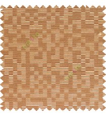 Dark chocolate brown gold color abstract designs geometric patterns digital stripes texture surface horizontal lines polyester main fabric