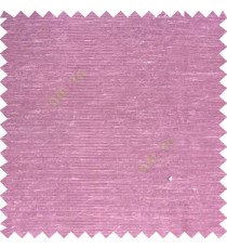 Purple color solid plain designless surface with transparent background horizontal lines polyester sheer curtain