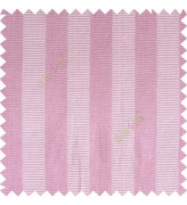 Pink beige color vertical bold stripes horizontal parallel lines texture surface polyester main curtain