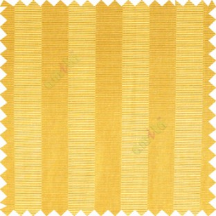 Yellow color vertical bold stripes horizontal parallel lines texture surface polyester main curtain