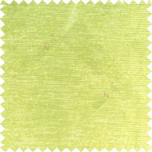 Green color solid plain designless surface with transparent background horizontal lines polyester sheer curtain