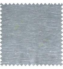 Blue grey color solid plain designless surface with transparent background horizontal lines polyester sheer curtain