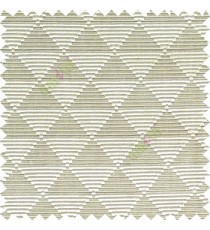 Beige grey color geometric triangle shapes horizontal lines texture finished dice slant crossing stripes polyester main curtain