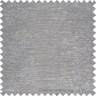 Grey color solid plain designless surface with transparent background horizontal lines polyester sheer curtain