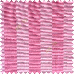 Pink grey color vertical bold stripes horizontal parallel lines texture surface polyester main curtain