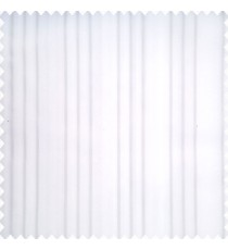 Cream color background texture finished surface with vertical grey color parallel stripes transparent base fabric sheer curtain