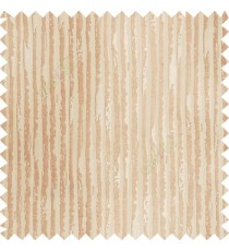 Brown beige color vertical stripes texture finished lines water drops flowing polyester main curtain fabric
