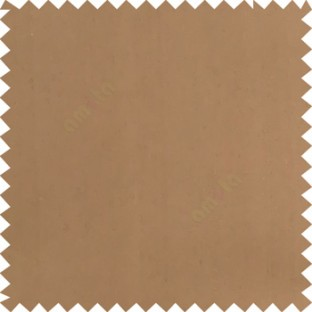 Brown color solid surface designless smooth finished polyester curtain fabric