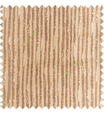 Brown and gold color vertical stripes texture finished lines water drops flowing polyester main curtain fabric
