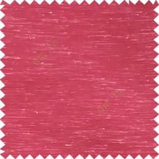 Maroon color horizontal lines transparent material net finished see through polyester curtain fabric