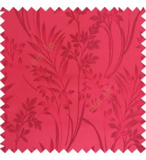 Maroon color beautiful design floral pattern texture finished surface with smooth background main curtain fabric