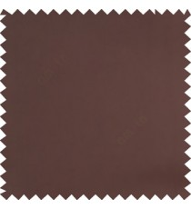 Dark brown color solid surface designless smooth finished polyester curtain fabric