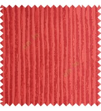 Orange color vertical stripes texture finished lines water drops flowing polyester main curtain fabric