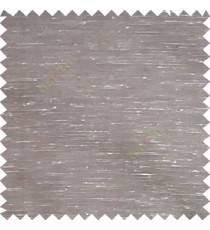 Grey color horizontal lines transparent material net finished see through polyester curtain fabric