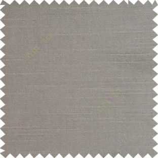 Grey color solid surface designless smooth finished polyester curtain fabric