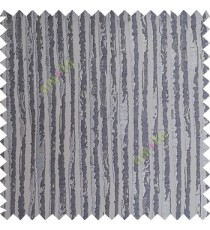 Grey color vertical stripes texture finished lines water drops flowing polyester main curtain fabric