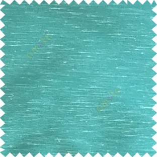 Blue beige color horizontal lines transparent material net finished see through polyester curtain fabric