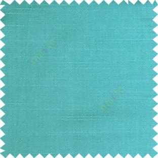 Blue color solid surface designless smooth finished polyester curtain fabric