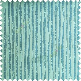 Blue color vertical stripes texture finished lines water drops flowing polyester main curtain fabric