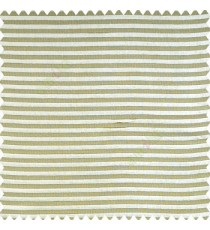 Beige color horizontal chenille stripes texture finished with polyester transparent net fabric embossed lines sheer curtain