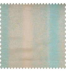 Blue and light brown color texture gradients vertical color shades bold stripes shiny and texture mixed base fabric polyester main curtain