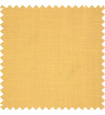 Gold color slub art silk solids complete plain surface designless horizontal lines embossed pattern with polyester main curtain
